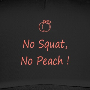 No squatting, no peach coral - Trucker Cap