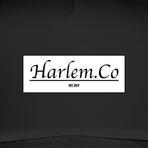 Harlem Co logo hvid og sort - Trucker Cap