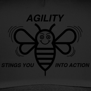 AGILITY STINGS YOU INTO ACTION - Trucker Cap