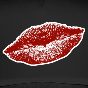 Kissing red lips for everyone and everywhere :) - Trucker Cap
