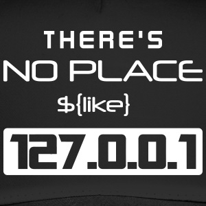 There is no place like 127.0.0.1 - Trucker Cap