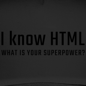 I know HTML - Trucker Cap