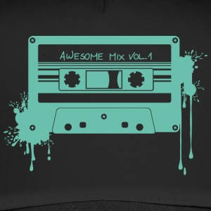 RETRO-KASSETTE in türkis - Trucker Cap