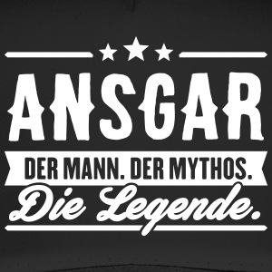 Man Myth Legend Ansgar - Trucker Cap