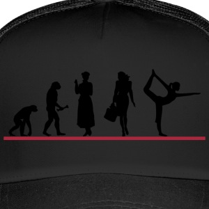 Yoga Frauen Evolving - Trucker Cap