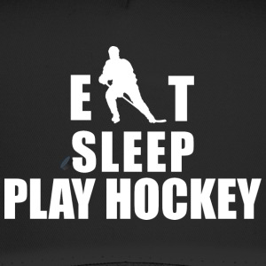 Hockey Eat Sleep Play Hockey - Trucker Cap