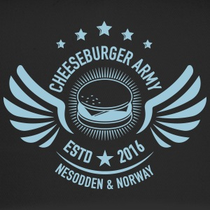 The official Cheeseburger Army logo - Trucker Cap
