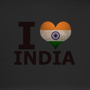I LOVE INDIA FLAG - Trucker Cap