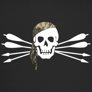 Pirate of archery - Skull and arrows - Trucker Cap