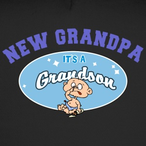 New Grandpa Personalize with Date or Name - Trucker Cap