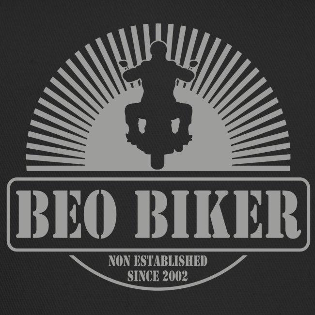 Logo Beo Biker Grey