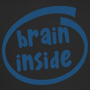 brain inside (1800C) - Trucker Cap
