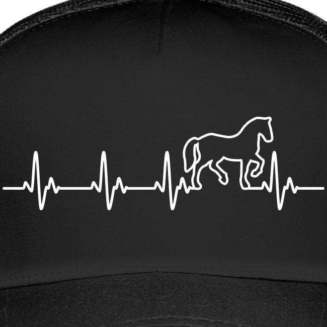 Vorschau: Horse Heartbeat - Trucker Cap