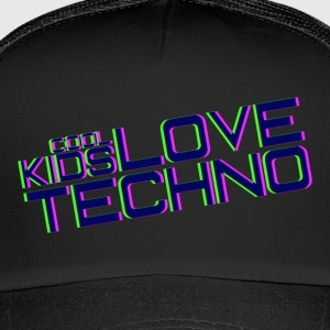 Cool kids love techno - Trucker Cap