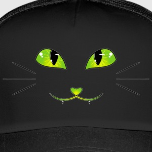 cat eyes - Trucker Cap