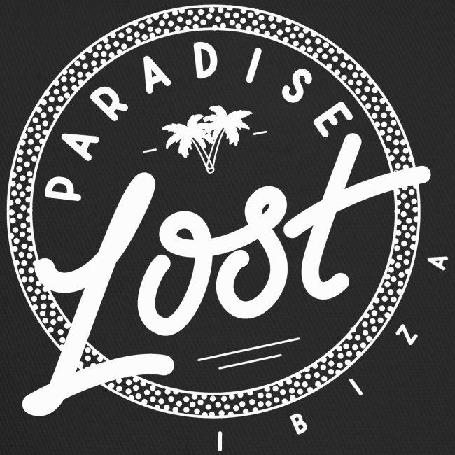 Paradise Lost Ibiza - White Logo