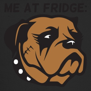 Hund / Boxer: Me At Fridge - Trucker Cap