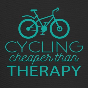 Cycling: Cycling - cheaper than Therapy - Trucker Cap