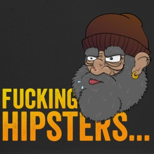 Anti Hipster Hobo - Fucking Hipsters - Trucker Cap