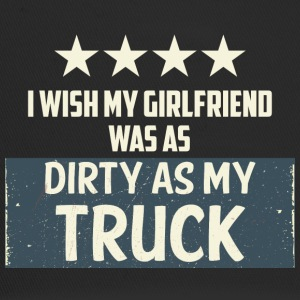 Trucker / LKW-Fahrer: I Wish My Girlfriend Was As - Trucker Cap