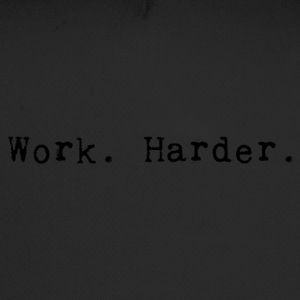 werk harder_black - Trucker Cap