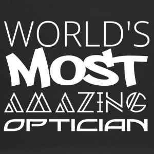 Optician: World's most amazing optician - Trucker Cap