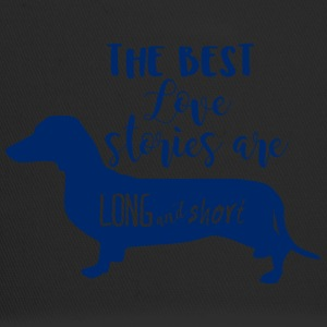 Dachshund / Dachshund: The Best Love Stories Are Long - Trucker Cap