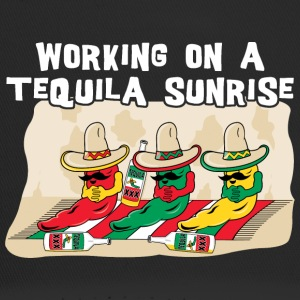 Working On A Tequila Sunrise - Trucker Cap