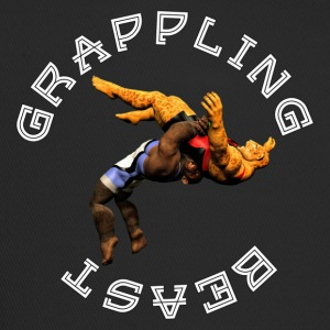 Grappling Beast (ape vs jaguar) - Trucker Cap