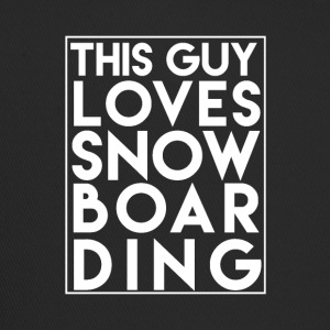 Ce Guy Loves Snowboard - Boarder Power! - Trucker Cap