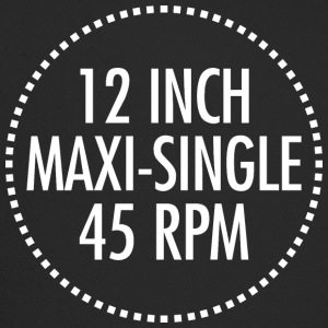 12 INCH MAXI-SINGLE 45 RPM VINYL (hvid) - Trucker Cap