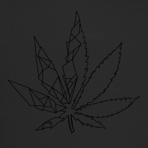 Stylized cannabis leaf - Trucker Cap