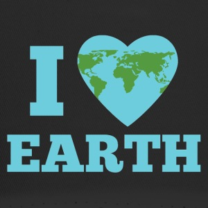 Earth Day / Tag der Erde: I Love Earth - Trucker Cap
