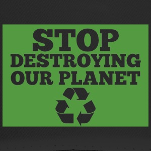 Earth Day / Earth Day: Stop Destroying Our Plan - Trucker Cap