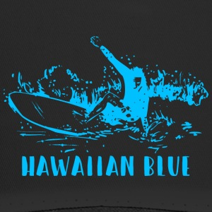 Hawaiian Blue Surfer - Trucker Cap