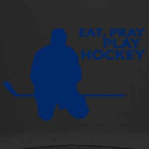Eishockey: Eat, Pray, Play Hockey - Trucker Cap