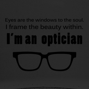 Optiker: Eyes are the windows to the soul. I frame - Trucker Cap