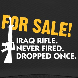 Rifle For Sale. Only Once Fired. - Trucker Cap