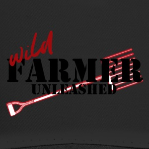 Farmer / Landwirt / Bauer: Wild Farmer Unleashed - Trucker Cap