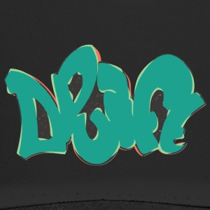 Drift Graffiti grün - Trucker Cap