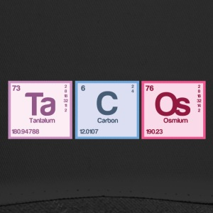 Periodic table elements: Ta C Os - Trucker Cap