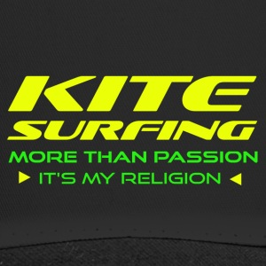 Kitesurfing - MERE END PASSION - ITS min religion - Trucker Cap