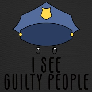 Police: I see guilty people - Trucker Cap