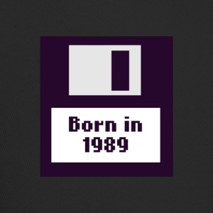 Born in 1989 floppy disk - Trucker Cap