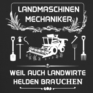 Landwmaschinenmechaniker - Because even farmers Hel - Trucker Cap