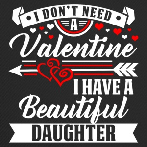 Daughter - Valentine's Day T-shirt and hoodie - Trucker Cap
