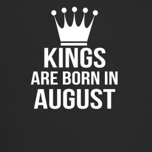 kings are born in august - Trucker Cap