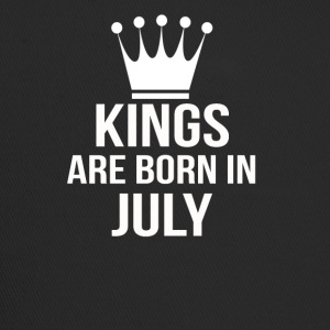 kings are born in july - Trucker Cap