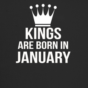 kings are born in january - Trucker Cap