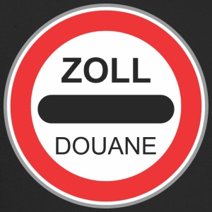 Road sign zoll douane - Trucker Cap